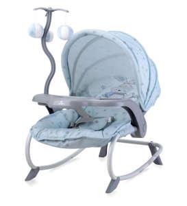 Lorelli Dream Time pihenőszék Nyuszi mintával #kék