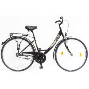 """Csepel Budapest A 28"""" felnőtt Kerékpár #fekete"""