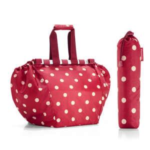 Reisenthel Bevásárlótáska - Pöttyös #piros 31340676 Bevásárlóháló, rendező táska