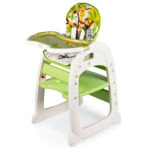 Ecotoys 2in1 átalakítható Etetőszék - Szafari #zöld 31281170 Etetőszék