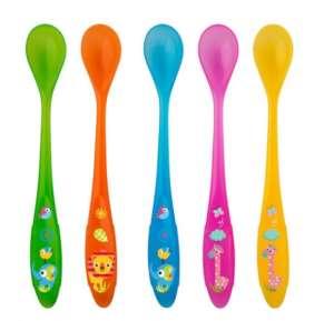 Rotho Babydesign etetőkanál, extra hosszú, 5 darabos 31340826 Etetési kiegészítő