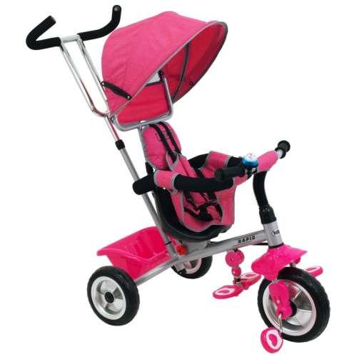 Baby Mix Rapid prémium Tricikli #rózsaszín