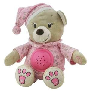 Baby Mix projektoros Éjjeli fény - Maci #rózsaszín