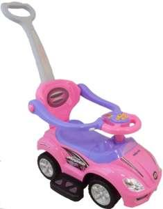 Baby Mix tolókaros Bébitaxi #rózsaszín
