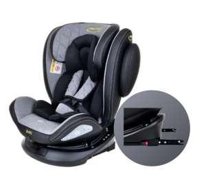 Summer Baby Bari SPS ISOFIX 360°-ban forgatható biztonsági Gyerekülés 0-36kg #fekete-szürke 31483836 360 fokban forgatható gyerekülés, autósülés