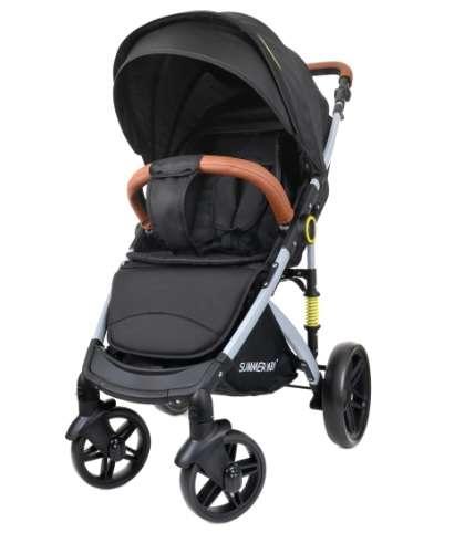 Summer Baby Sempre sport Babakocsi + ajándék Pelenkázó táska #fekete