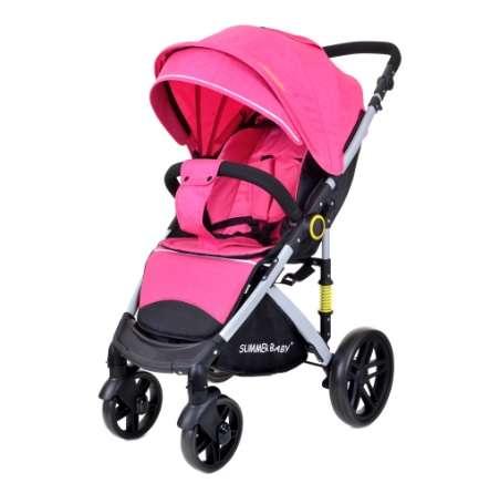 Summer Baby Sempre sport Babakocsi + ajándék Pelenkázó táska #rózsaszín