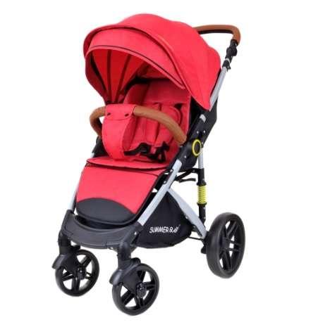 Summer Baby Sempre sport Babakocsi + ajándék Pelenkázó táska #piros