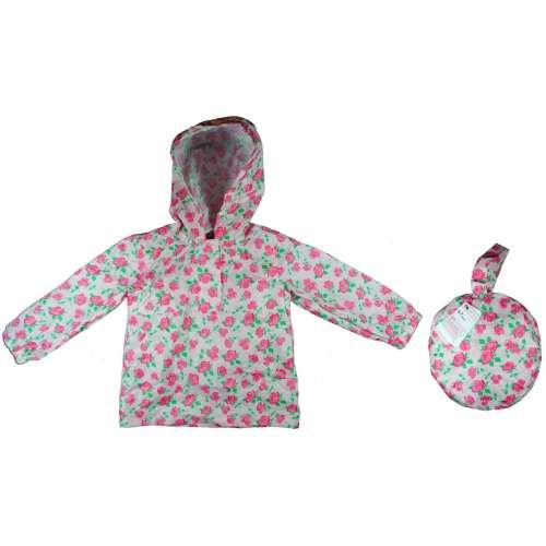 Mothercare rózsás esőkabát/kistáska - 98