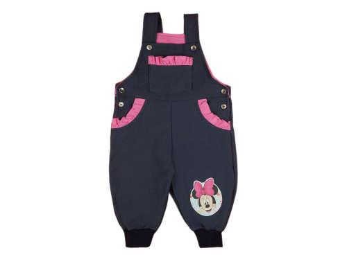 Disney Minnie baba elasztikus farmer hatású kertésznadrág (méret:68-92)