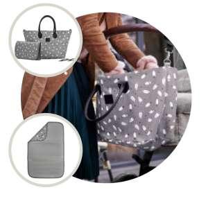Kinderkraft Torba Pelenkázó táska #szürke