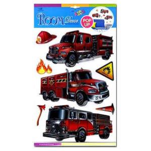 Marko Falidekor 3D Tűzoltóautók --SLK-1056