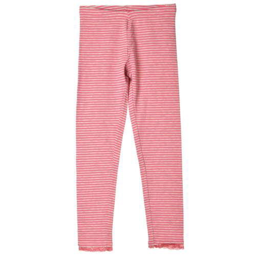 OVS rózsaszín, szürke csíkos lány leggings – 122