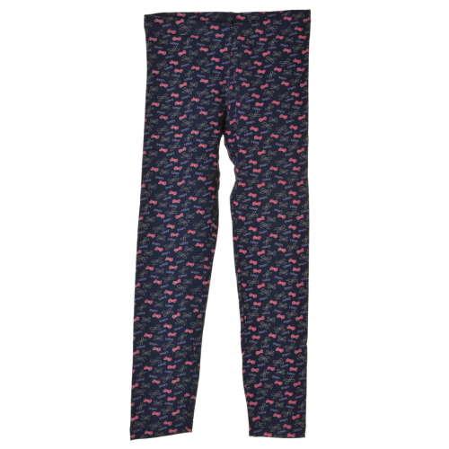 OVS sötétkék, masni mintás lány leggings – 122