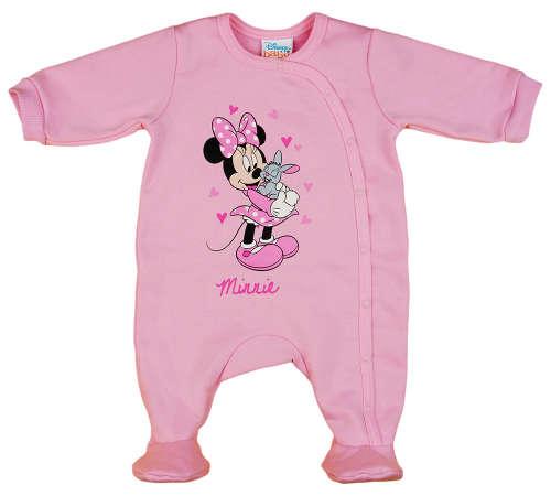 Disney Minnie nyuszis belül bolyhos hosszú ujjú rugdalózó