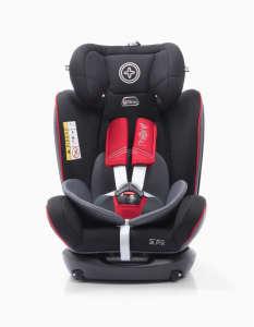 Werdu ISOFIX biztonsági Gyerekülés 0-36kg #fekete 31316815 360 fokban forgatható gyerekülés, autósülés