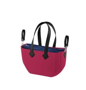 Nuvita myMIA pelenkázó táska - Raspberry Navy Black #piros 31317628 Pelenkázó táska
