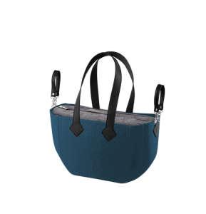 Nuvita myMIA pelenkázó táska - Petrol Grey Black #kék 31317631 Pelenkázó táska