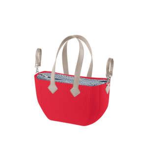 Nuvita myMIA Pelenkázó táska - Crimson Optical Grey #piros 31317634 Pelenkázó táska