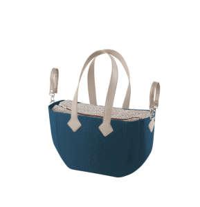 Nuvita myMIA pelenkázó táska - Petrol Rhombo Grey #kék 31317640 Pelenkázó táska
