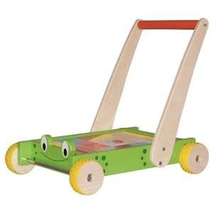 Járássegítő építőkockákkal - Béka #zöld 31321826 Járássegítő
