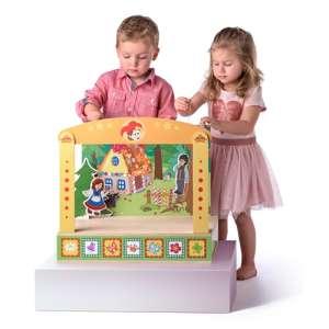 Játék bábszínház mesekarakterekkel - fajáték 31324334 Báb játék