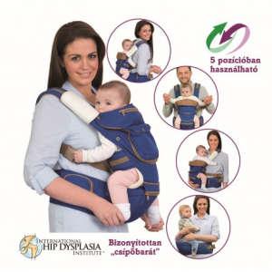 ClevaMama ergonomikus 5 pozíciós babahordozó 31324592 Hordozókendő