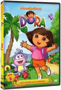 Dóra, a felfedező 5 (DVD) 31324883 CD, DVD