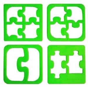 Lunch Punch szendvicsforma, puzzle, 4 darab / készlet 31340870 Konyhai eszköz baba etetéshez