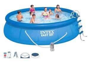 Intex EasySet felfújható Medence szett vízforgatóval 457x107cm (28166GN) 31335992 Kerti medence