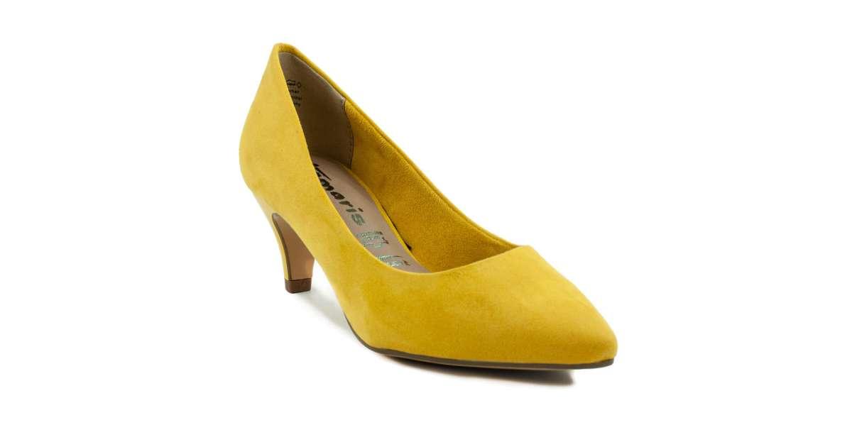 Tamaris női Alkalmi cipő #sárga   Pepita.hu