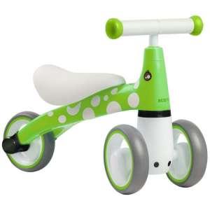 Ecotoys Mini háromkerekű Futóbicikli - Pöttyös #zöld 31345109 Futóbicikli