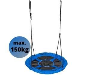 Ecotoys Fun acélvázas Fészekhinta 110cm #kék