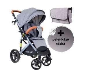 Summer Baby Sempre sport Babakocsi + pelenkázó táska #szürke