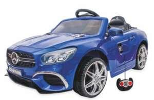 Baby Mix Mercedes Elektromos autó távirányítóval 12V #kék