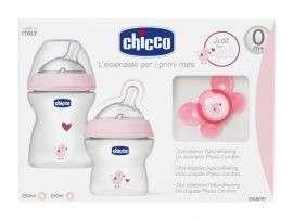 Chicco NaturalFeeling Ajándék szett #rózsaszín 31361386 Ápolási szett