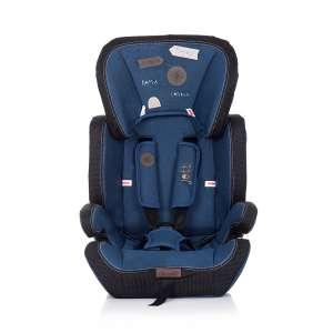Chipolino Jett biztonsági Gyerekülés 9-36kg - Blue Denim #kék 2020