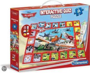 Clementoni Disney interaktív Puzzle 35db - Repcsik 31361794 Puzzle gyereknek
