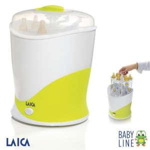Laica Baby Line elektromos gőz Sterilizáló cumisüvegekhez 31362700 Sterilizáló
