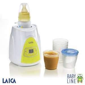 Laica Baby Line digitális Cumisüveg és bébiétel Melegítő 31362704 Cumisüveg melegítő, melegentartó, termosz