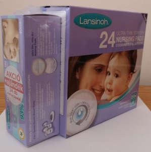 Lansinoh bimbóvédő krém HPA Lanolin 40ml + Lansinoh éjszakai és nappali melltartóbetét 24db 31362872 Mellápoló