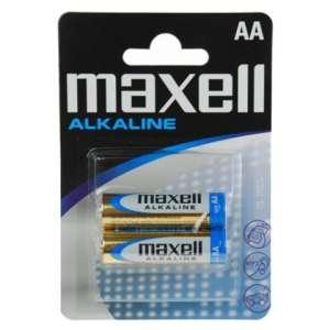 Maxell Alkáli ceruza elem LR6 2db 31362956 Elem, akkumulátor