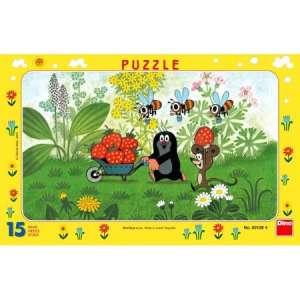 Dino Toys: Kisvakond útra kel Puzzle 15db 31363764 Puzzle gyereknek