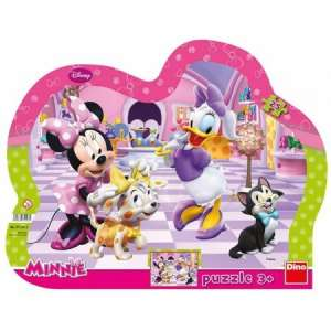 Dino Toys: Minnie egér és Daisy kacsa Puzzle 25db 31363766 Puzzle gyereknek