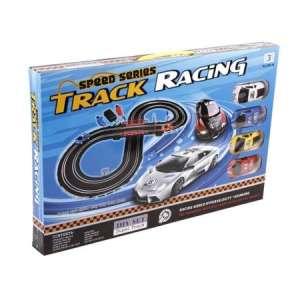Track Racing elektromos Autópálya 280cm (4 autóval) 31363769 Autópálya, parkolóház