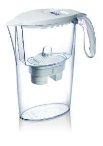 LAICA Clear Line fehér vízszűrőkancsó (1 Bi-Flux univerzális szűrőbetéttel) 31365041 Vízszűrő kancsó és tartozék