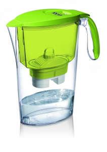 LAICA Clear Line zöld vízszűrőkancsó (1 Bi-Flux univerzális szűrőbetéttel) 31365065 Konyhai eszköz