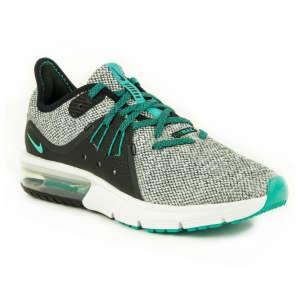 Nike Air Max Sequent 3 Gs nőz Sportcipő #fekete-fehér