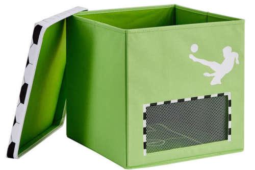 Store !T kocka tároló - Zöld Futball