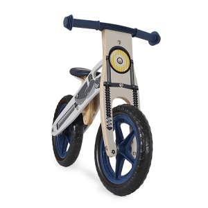 Wooden Toys gyerek bicikli fából, EVA kerekekkel